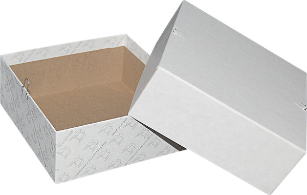 "White Repair/Mailing Box - P56 - 6"" x 6"" x 2-1/2"""