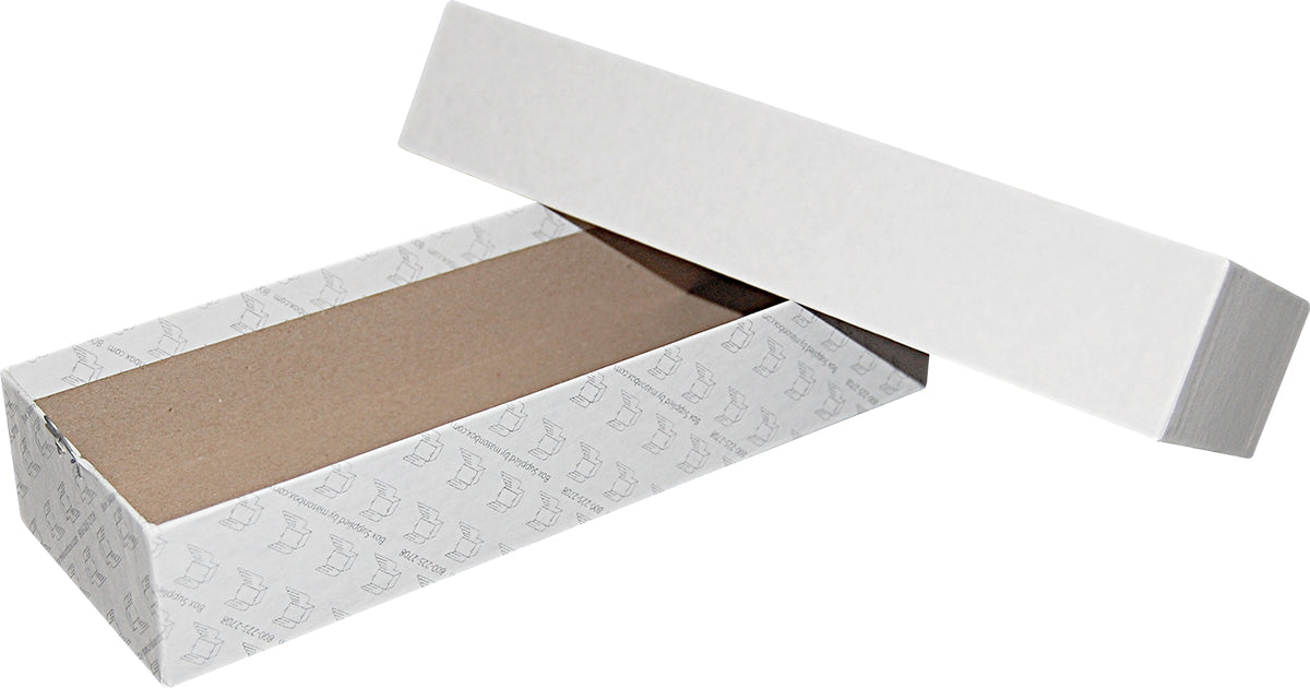 "White Repair/Mailing Box - P85 - 10"" x 3-3/8"" x 1-7/8"""