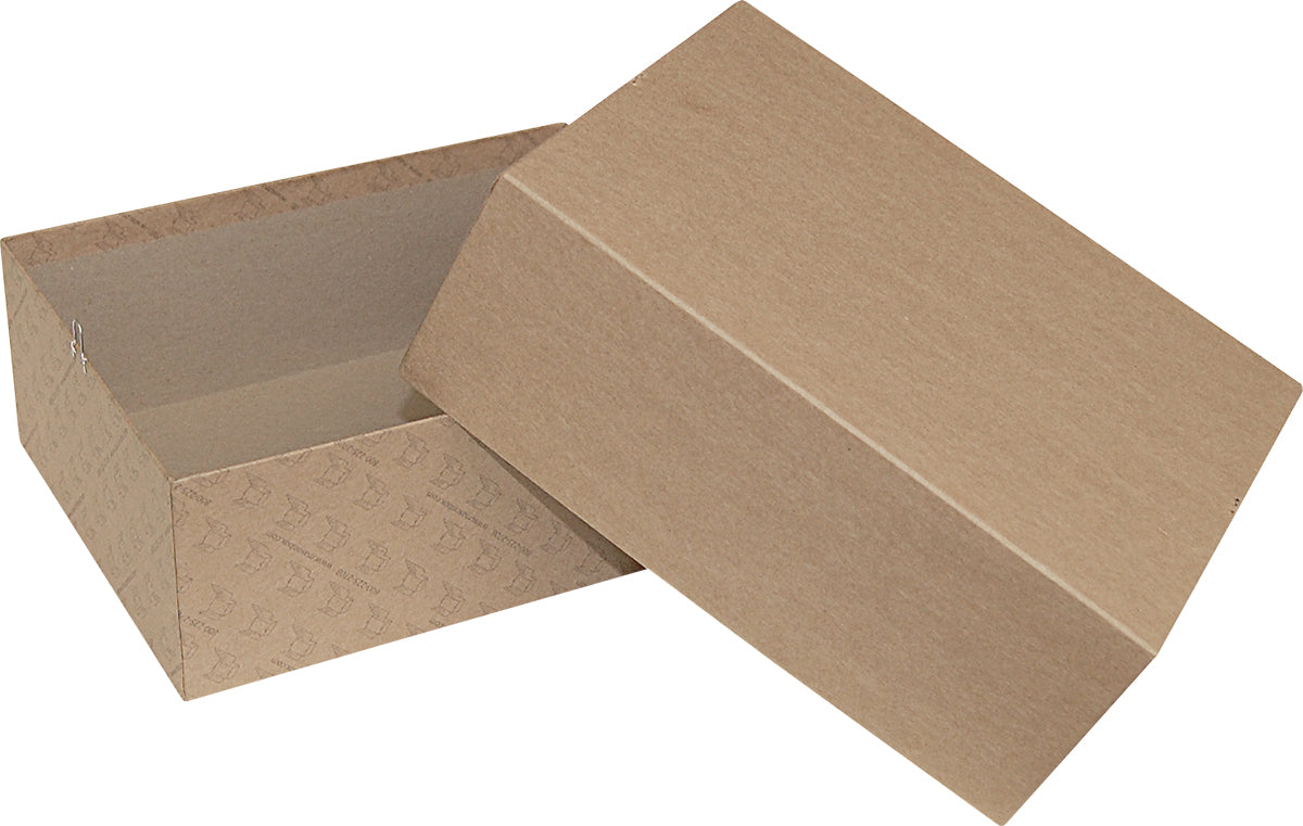 "Kraft Repair/Mailing Box - PK10 - 8-3/4"" x 6-1/2"" x 3-1/4"""