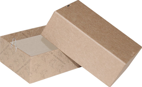 "Kraft Repair/Mailing Box - PK2 - 4-1/8"" x 2-3/4"" x 1 1/2"""
