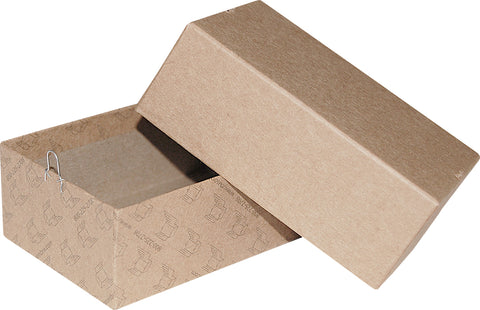 "Kraft Repair/Mailing Box - PK3 - 4 5/8"" x 3-1/8"" x 1-3/4"""