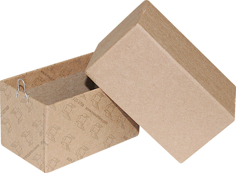"Kraft Repair/Mailing Box - PK42 - 3 1/2"" x 2"" x 2"""