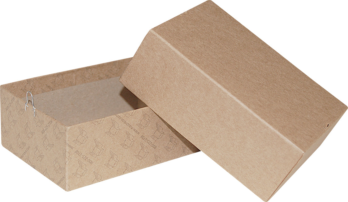 "Kraft Repair/Mailing Box - PK4 - 5"" x 3-1/2"" x 1-7/8"""
