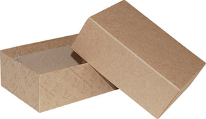 "Kraft Repair/Mailing Box - PK7 - 6-3/4"" x 4-5/8"" x 2-1/2"""