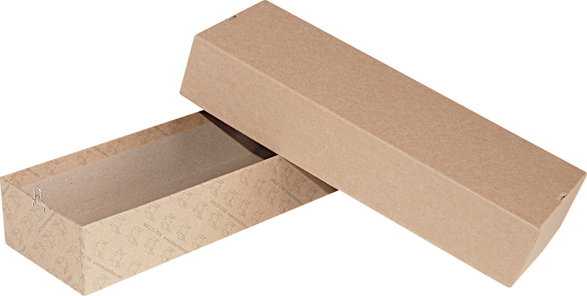 "Kraft Repair/Mailing Box - PK85 - 10"" x 3-3/8"" x 1-7/8"""