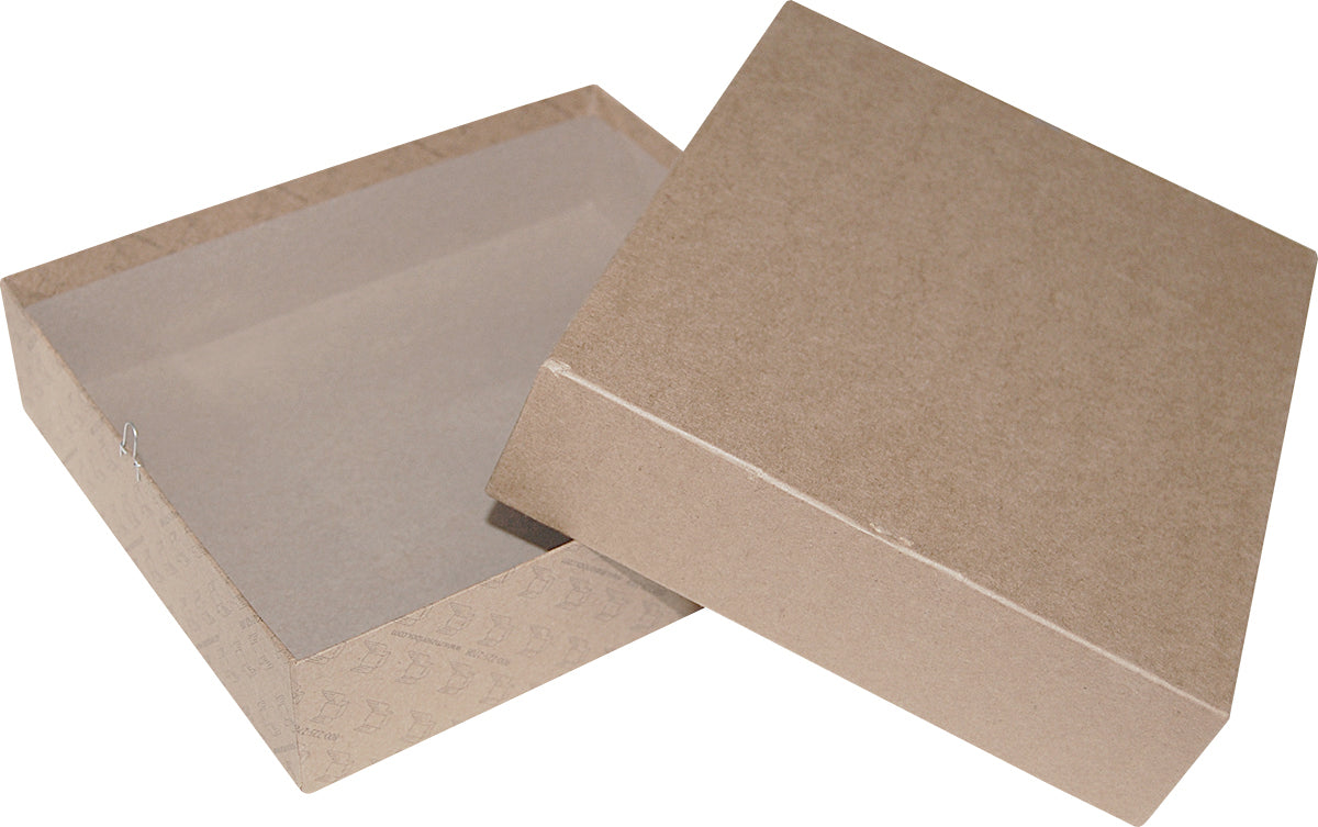 "Kraft Repair/Mailing Box - PK98 -  9"" x 7-3/4"" x 2-1/8"""
