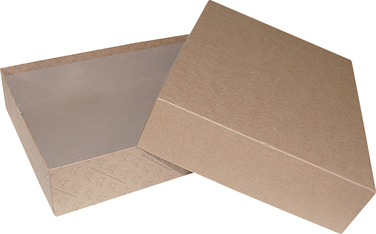 "Kraft Repair/Mailing Box - PK99 - 11-1/8"" x 8-5/8"" x 2-1/2"""