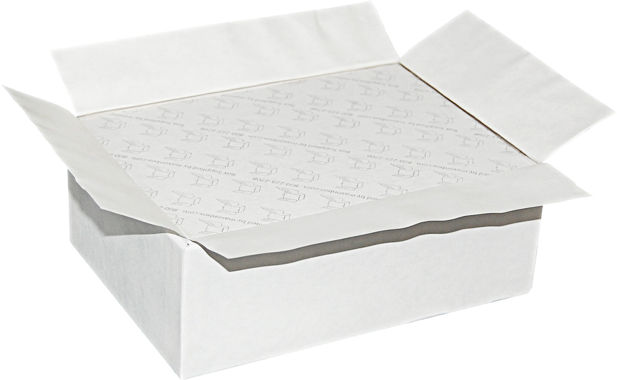 "White Universal Sealing Flap Mailing Box - R6 -  6"" x 4 1/4"" x 2 3/16"""