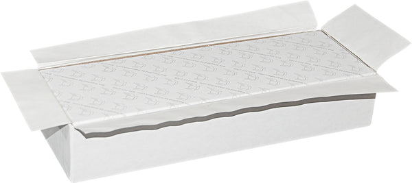 "White Universal Sealing Flap Mailing Box - R85 - 10"" x 3 3/8"" x  1 7/8"""