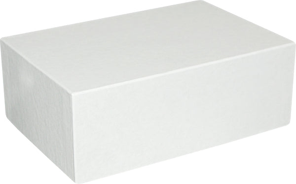 "White Universal Sealing Flap Mailing Box - R8 - 7 1/2"" x 5"" x 2 3/4"""