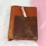 B6 Dip Pocket Folio - Horween Honey Tan