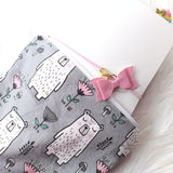 Grey Bear Planner Pouch