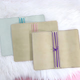 Custom Foiled Leather Planners