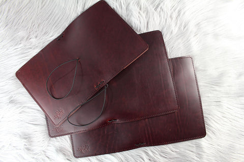 Wine Custom Traveler's Notebook