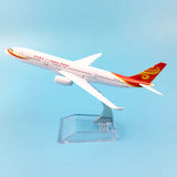 16cm Air China Hainan Airlines B787 Model Airplane Boeing 787 Airways w Stand Metal Plane