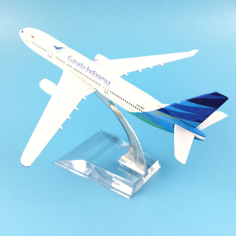 16cm Alloy Metal Air Garuda Indonesia Airlines Airbus 330 A330 Plane Model Aircraft Airplane