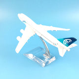 16cm Alloy Metal Air New Zealand Airlines Airplane Model Boeing 747 B747 400 Airways Plane