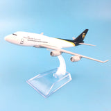 16cm Alloy Metal Air UPS Airlines Boeing 747 B747 400 Airways Plane Model Aircraft Airplane