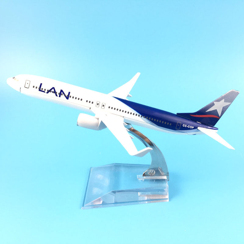 16cm Metal Alloy Plane Model Chile Air LAN Airways Boeing 787 B787 CC-BBA Airlines Airplane