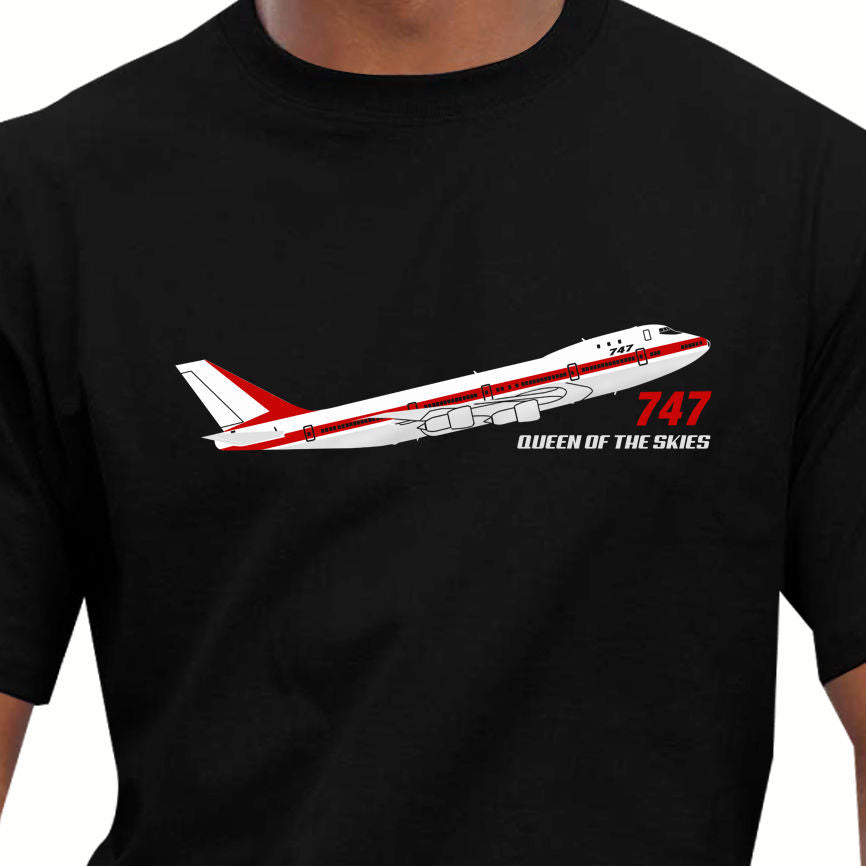 New Trendy Hot Sale Men High Quality Aeroclassic Boeing 747 Prototype Airliner Inspired Retro