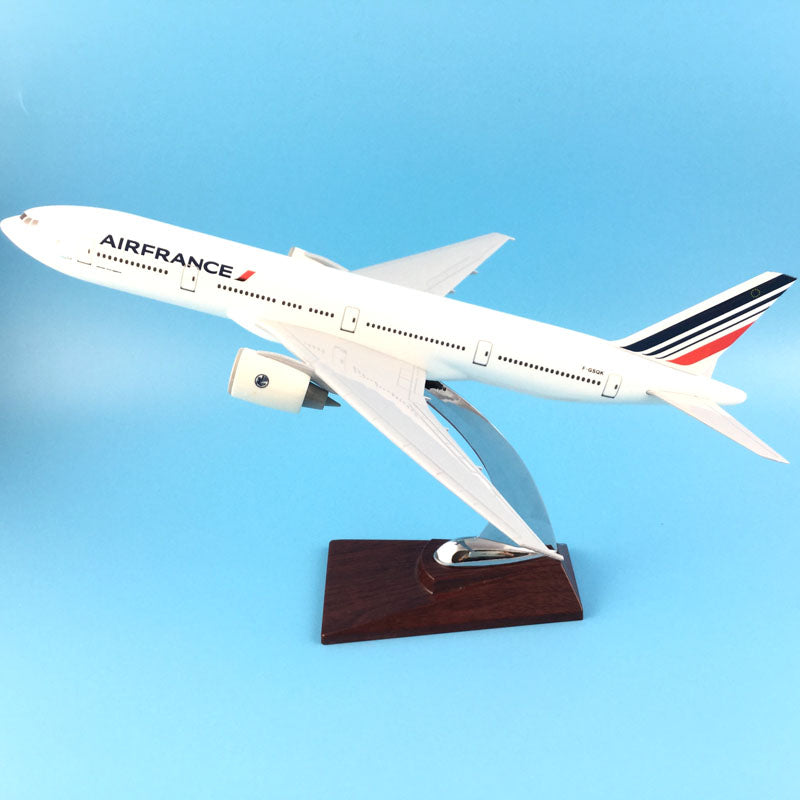 31cm Air France Boeing 777 B777 Alloy Metal Model Plane 1:200 Model Aircraft
