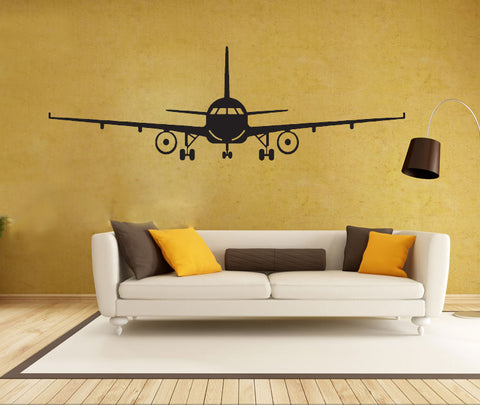 3D Airplane Wall Stickers Wall Decor Airplane Wall Art Decal Decoration Vinyl Stickers Removable
