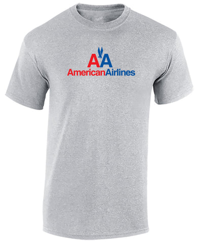 American Airlines T Shirt - Airline T Shirt - AA - Aviation T Shirt - Airlines Custom Made