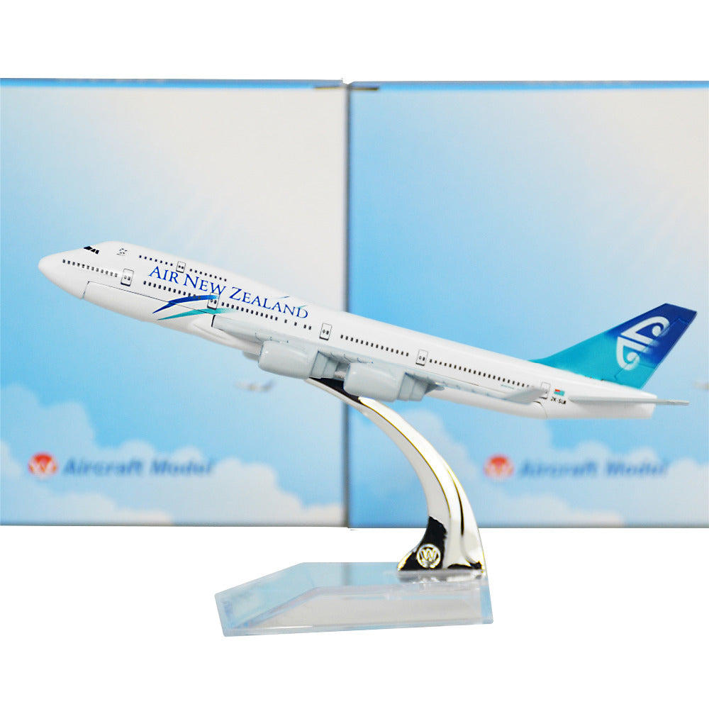 Air New Zealand Boeing 747 16cm Airplane Models Child Birthday Gift Plane Toys