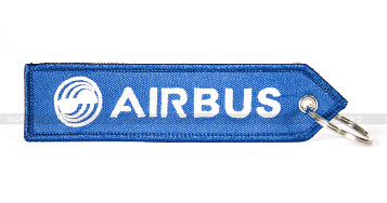 Airbus Logo Luggage Bag Tag  Pink / Red / Blue Aviation Lover Flight Crew Pilot
