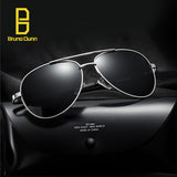 Aluminium Aviator Sunglasses Man Polarized Male Brand Designer