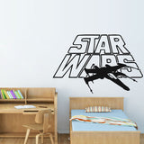 Art Decor Star Wars Wars Airplane Wall Stickers Home Decor Removable Vinyl Adhesive