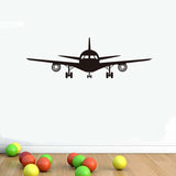 Boeing Airplane Art Wall Decal Cool Plane Vinyl Wall Sticker Wallpaper For Kids Bedroom Aircraft
