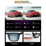 DUBERY Men's Polarized Sunglasses Aviation Women Sport Luxury Brand Designer