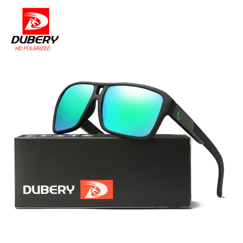 DUBERY Men's Polarized Sunglasses Aviation Women Sport Glasses Eyewear