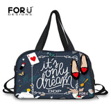 Fashion Travel Bags Big Luggage Duffle Bag Weekend Bag for Women Large Travel Handbag