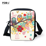 Original Women's Messenger Bags Vintage Lady Girl Crossbody Bags Kids Small Shoulder