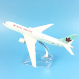 16cm Air Canada Airline Boeing 777 Metal Alloy Model Plane Aircraft Airplane Birthday Gift