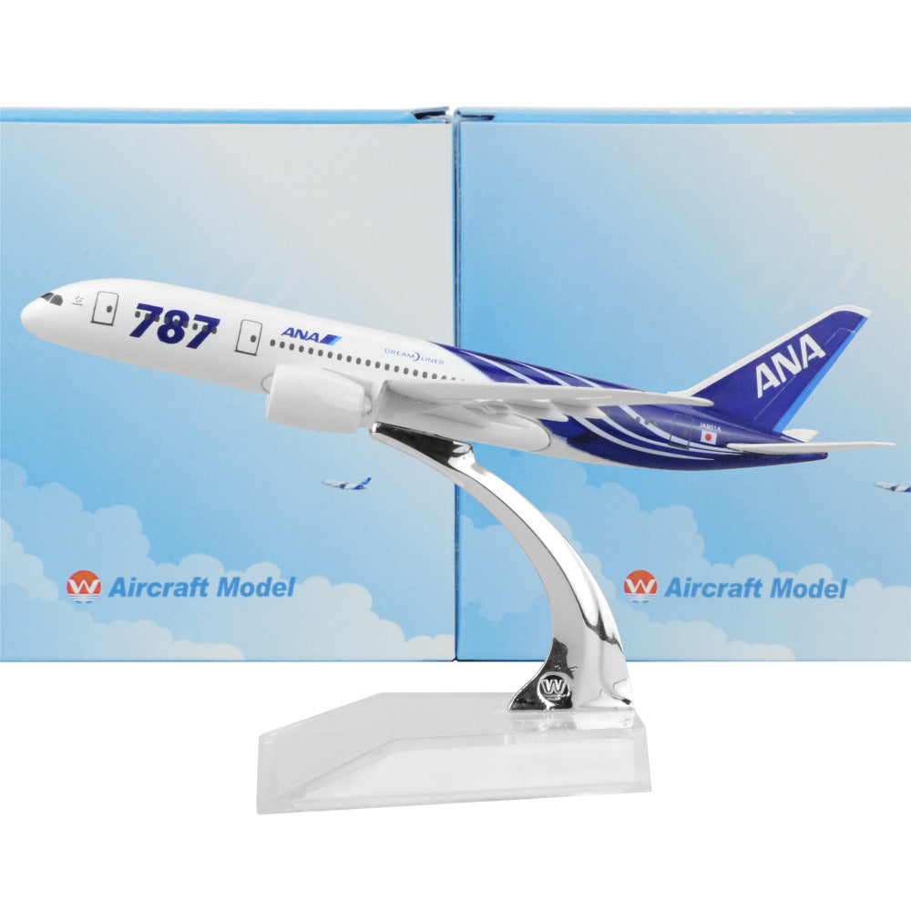 Japan All Nippon Airways Boeing 787 16cm Model Airplane Kits Dreamliner Plane Models Toys