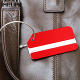 MELIFE Mini Rectangle Aluminium Sport Bag Tags Remove Before Flight Accessories Suitcase