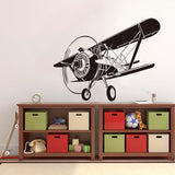 Military Aviation Airplane Wall Stickers Removable Vinyl Wall Decals For Kid Rooms Cartoon