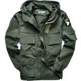 Military Style Jackets Men Pilot Cotton Coat USA Army 101 Air Force Bomber Jacket Green Black