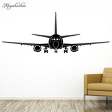 Airplane Wall Stickers Home Decor Aircraft Art Wall Decals Decoration Kids Room Bedroom