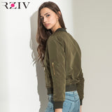Winter Flight army green bomber jacket women jacket and women's coat clothes bomber ladies