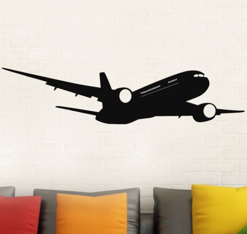 Removable  Airplane Boeing Wall Modern Decal Stickers Home Decor Quality Wall Sticker GW-51