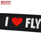 Remove Before Flight Lanyard for Keys Lanyard Keychain Key Ring llaveros Neck Strap Lanyards