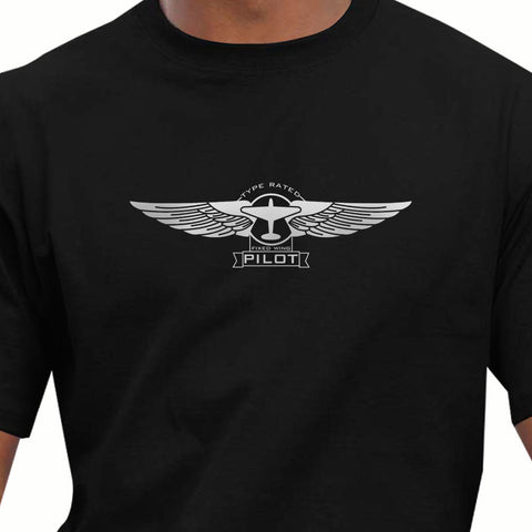 Summer 2018 100% Cotton Clothing Male Crossfit Tops Aeroclassic Pilots PPL Flying Pilots Wings  Breathable T shirt