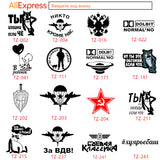 Airplane aircraft decals car sticker wall laptop stickers