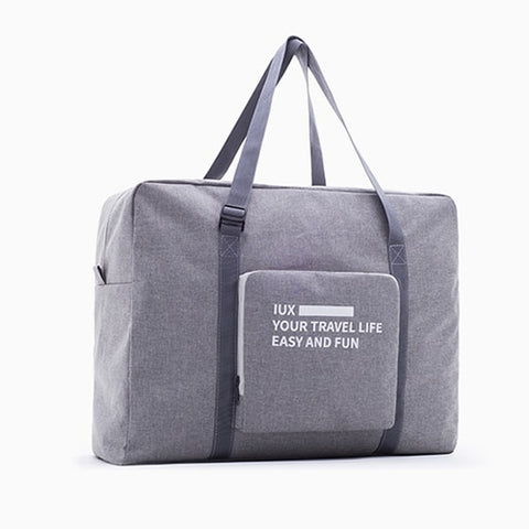 Men Waterproof Travel Bag Nylon Large Capacity Women Bag Folding Travel Bags Hand Luggage