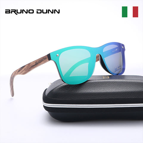 Bruno Dunn Wood bamboo Sunglasses Women/Men Polarized
