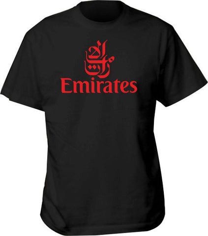 T Shirt Emirates Airlines Airline Aviation